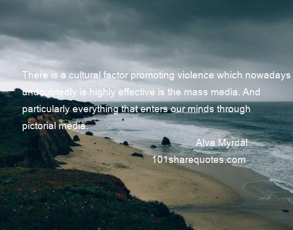 Alva Myrdal Quotes Sayings Quotations